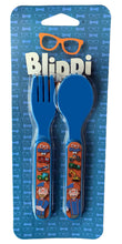 Load image into Gallery viewer, Blippi Spoon and Fork Set
