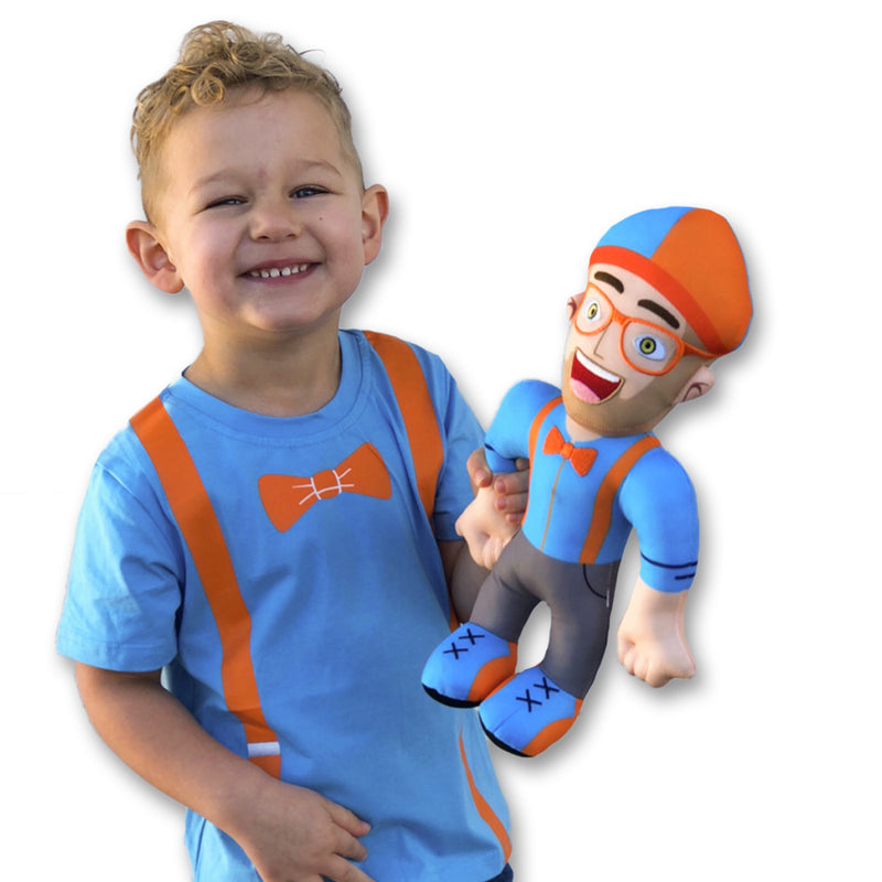 Blippi Plush Doll - 13 Inch.