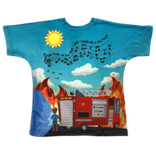 Load image into Gallery viewer, Blippi Fire Truck T-Shirt