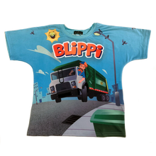 Load image into Gallery viewer, Blippi Garbage Truck T-Shirt