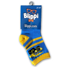 Load image into Gallery viewer, Blippi Trucks 3-Pack Sock Set