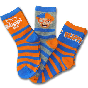 Blippi 3-Pack Sock Set
