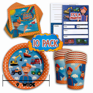 Blippi Party Pack