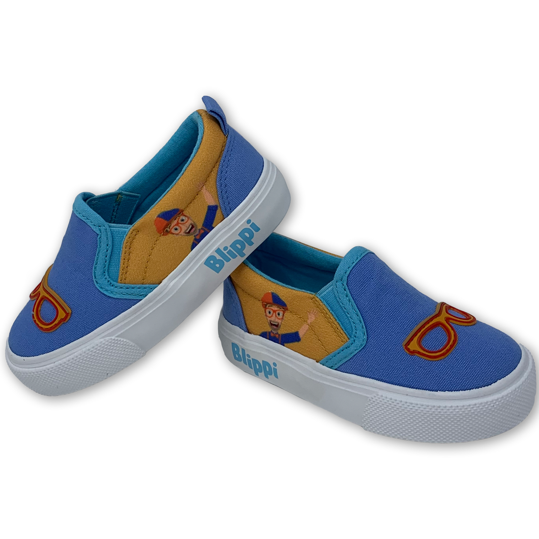 Blippi Toddler Slip-On Sneakers