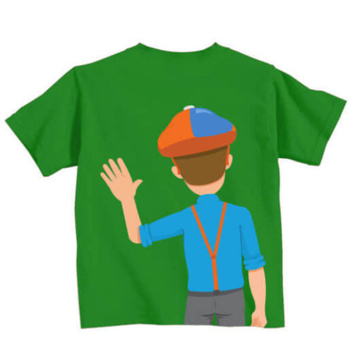 Waving Cartoon Shirt