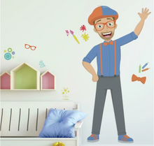 Load image into Gallery viewer, Blippi Peel and Stick Giant Wall Decals
