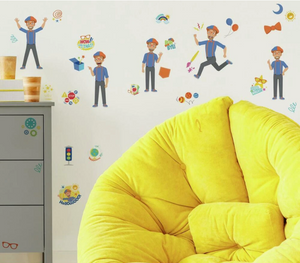 Blippi Character Peel and Stick Wall Decals