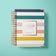 2020 - 2021 BERTEAU Stripe Undated Teacher Planner