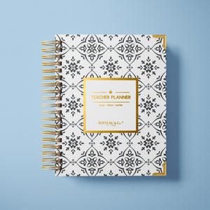 2020 - 2021 Mosaic Undated Teacher Planner