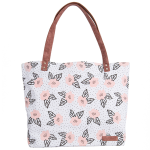 Large Tote Bag - Floral
