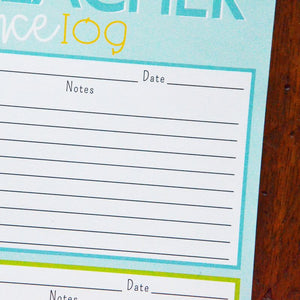 Notepad - Parent / Teacher Conference Log