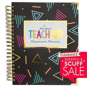 SCRATCH & SCUFF SALE - 2019-2020 Get Your Teach On Large Teacher Planner