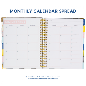 SCRATCH & SCUFF SALE - 2019-2020 BERTEAU Stripe Large Teacher Planner