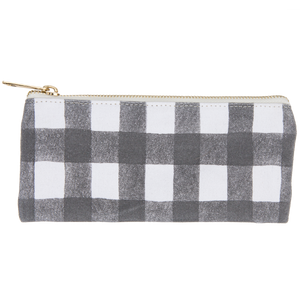 Pencil Pouch - Buffalo Check