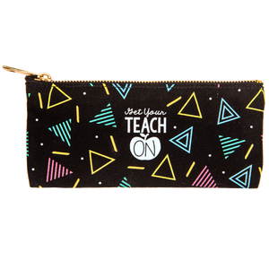 Get Your Teach On Pencil Pouch