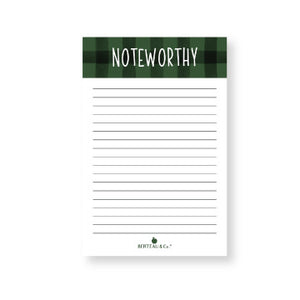 Notepad - The Noteworthy (Half-Sheet Pad)