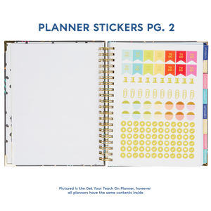 2019-2020 Get Your Teach On Large Teacher Planner - My Classroom Planner