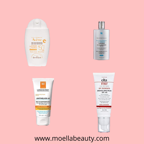 best sunscreens for acne prone skin