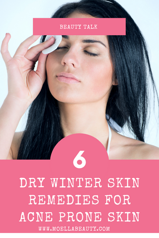 Dry winter skin remedies pinterest image