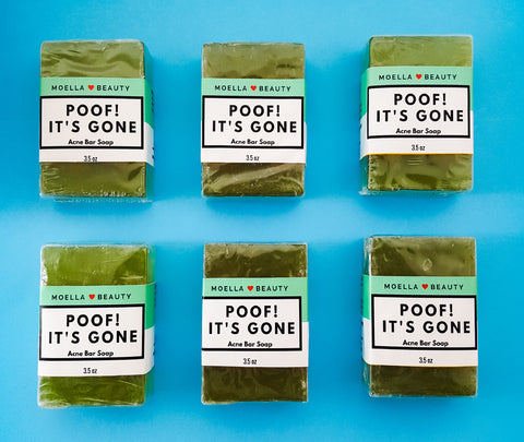 poof its gone acne bar soap, what causes acne