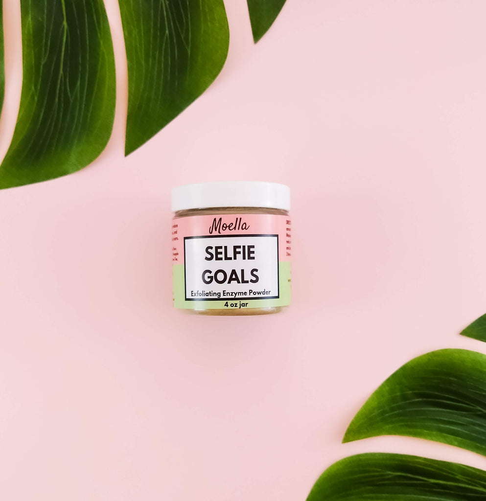 Selfie Goals Enzyme Powder moellabeauty