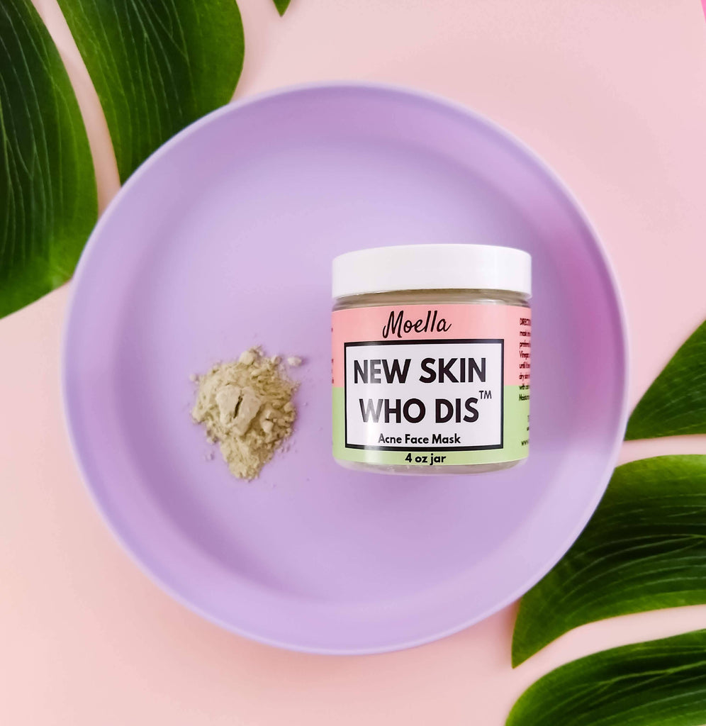 New Skin Who Dis' Acne Face Mask 2.0 moellabeauty