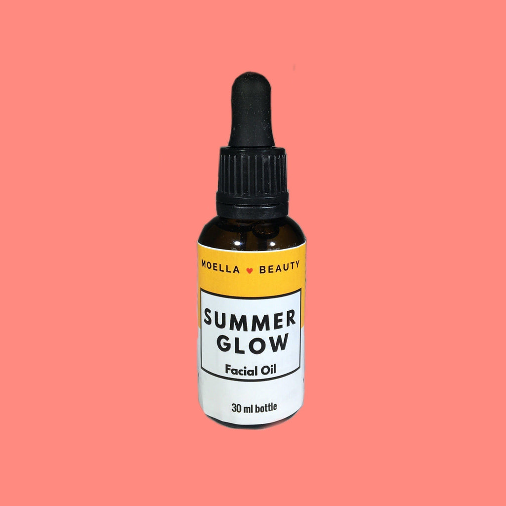 Summer Glow Facial Oil moellabeauty