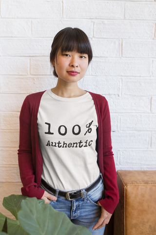 100% Authentic T-Shirt