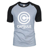Dragon Ball Z Capsule Corp Tee-T-Shirt-Off Tap Gear