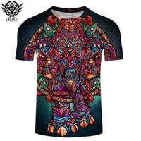 Color Elephant By jml2 Art T-Shirt - Off Tap Gear