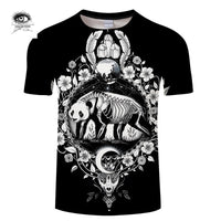 Panda black By Pixie Cold Art T-Shirt - Off Tap Gear