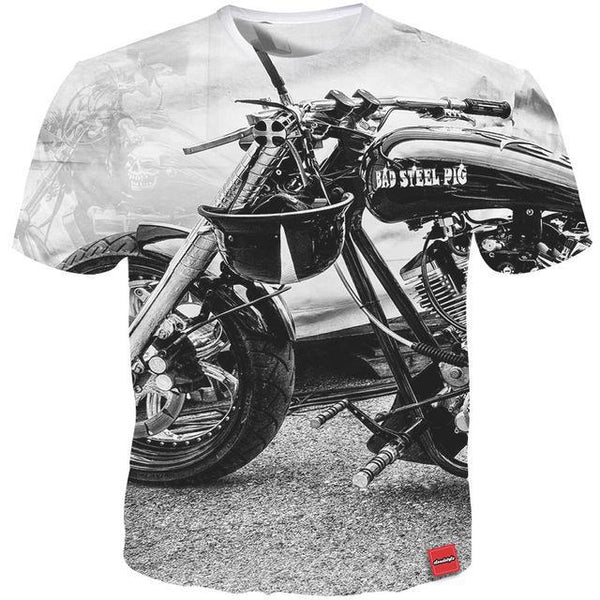 Motorcycle Tee-T-Shirt-Off Tap Gear