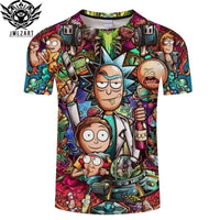 Rick and Morty By Jm2 Art T-Shirt-T-Shirt-Off Tap Gear