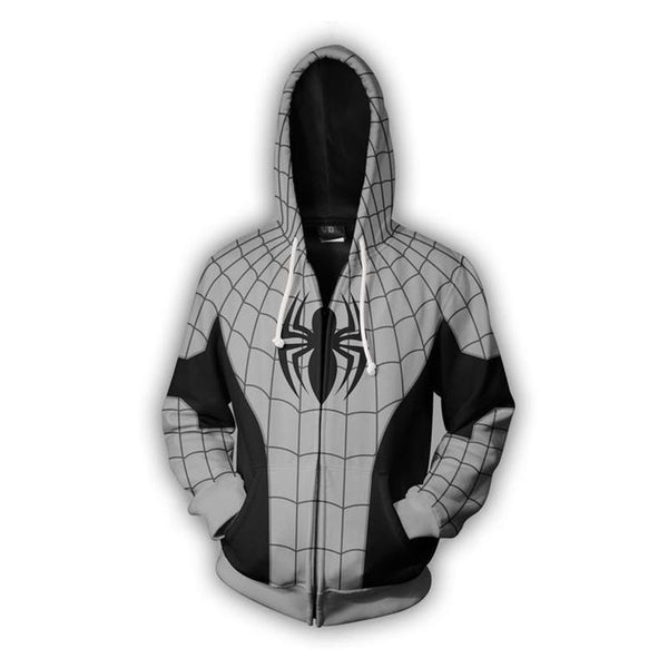 Spiderman Zip Up Hoodie - Off Tap Gear