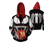 Venom Zip Up Hoodie - Off Tap Gear
