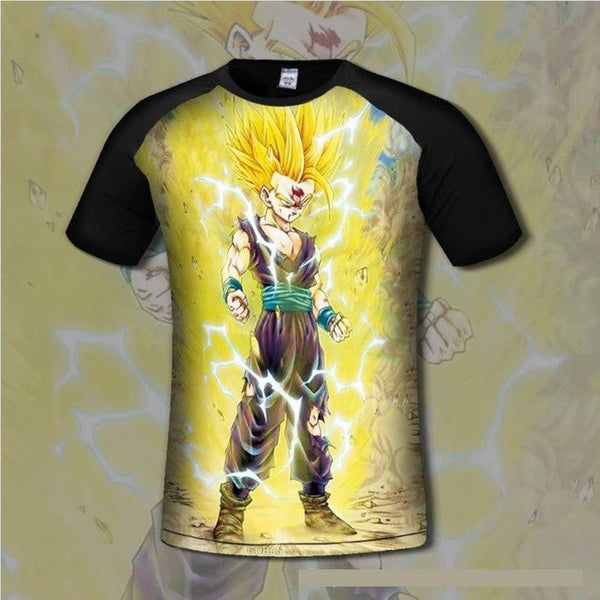 Super Saiyan Gohan Men's Tee-Off Tap Gear