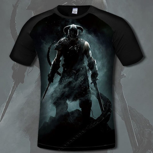 Skyrim 3 Men's Tee-Off Tap Gear