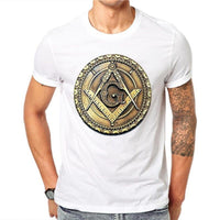 Freemason Badge Men's Tee - Off Tap Gear