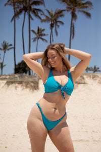 Wave Bottoms - Teal / Tropics