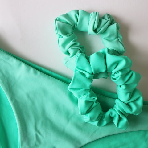 SCRUNCHIE 2 PACK - Apple & Sea Foam