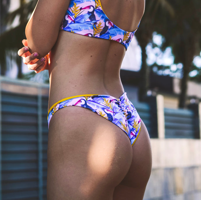 SCRUNCH BOTTOM - Toucan Tropics / Mango