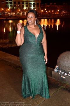 Emerald City Evening Gown