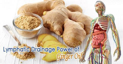 Lymphatic Drainage Therapy Ginger Oil