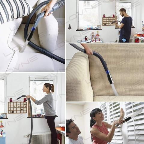 Incredible Flexible Suction - Pick up dust and dirt in those hard to reach places!