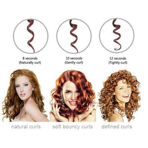 AutoCurl™ Safety Hair Curler