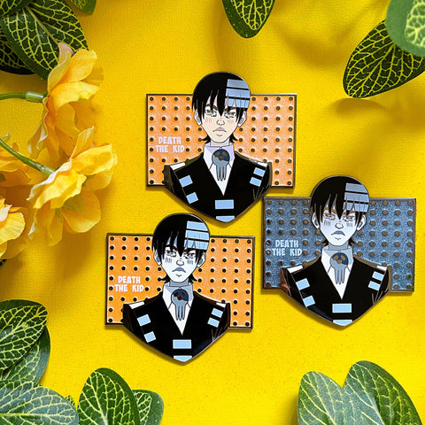 Shinigami Kid Enamel Pin