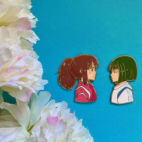 Spirit Bathhouse Children Enamel Pins