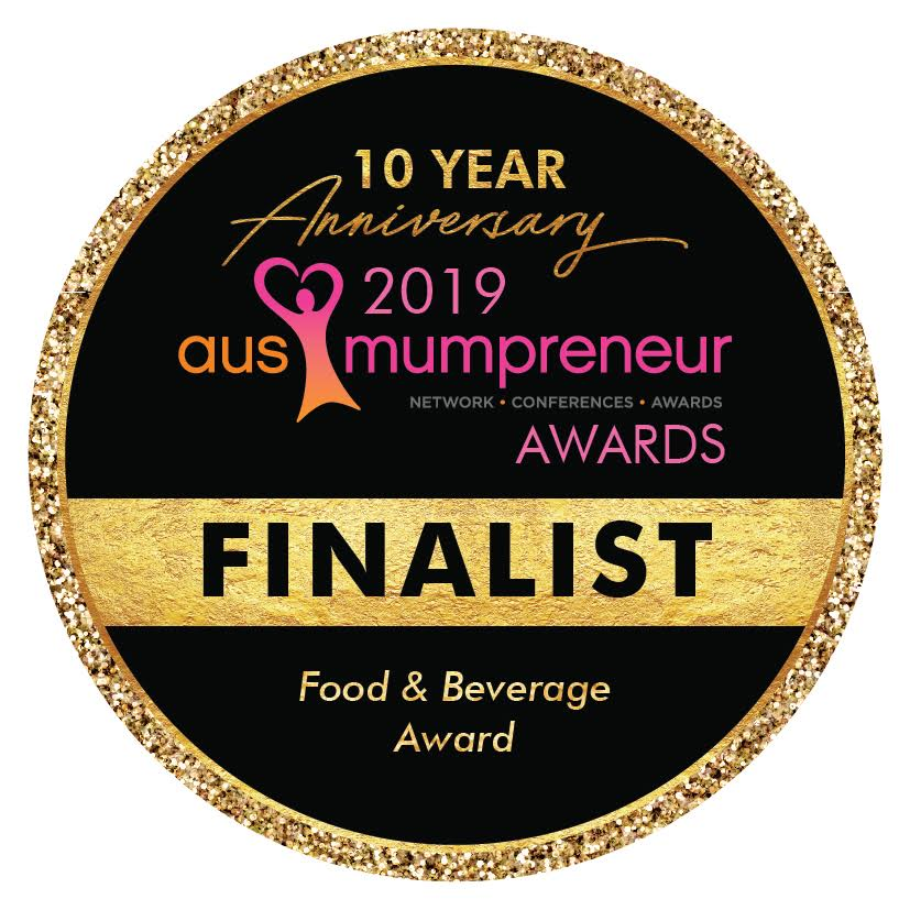 Ausmumpreneur award finalist food & bevergage award