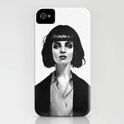 Mrs Mia Wallace Mobile Cover - Local Tres