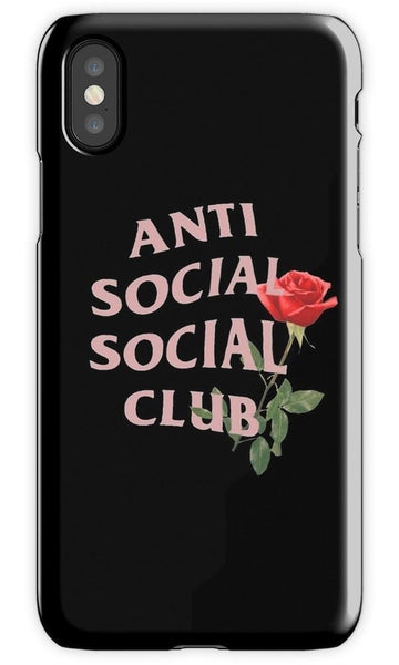 Anti Social Social Club 2 Mobile Cover - Local Tres